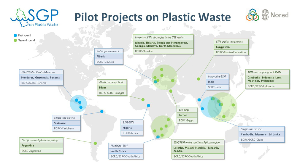 Plastic waste pilot projects kicking off across the globe