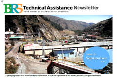 The September  issue of the BRS Technical Assistance Newsletter is now available