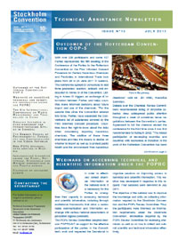 Technical assistance newsletters